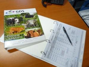 Le carnet sanitaire distribué gratuitement aux adhérents du GDS