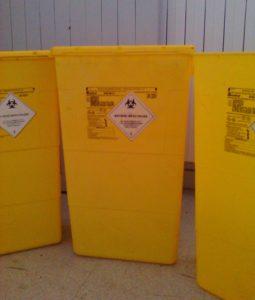 Fûts de collecte de déchets